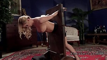 Pale skinny redhead fucked anal